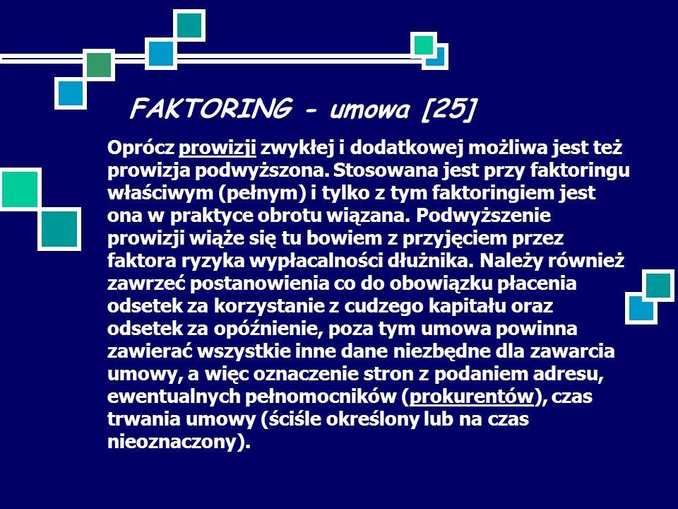 FAKTORING - umowa [25]